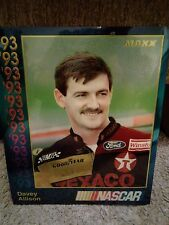 1993 Davey Allison Maxx Premiere Chrome 8x10 Card 1/25000 NASCAR