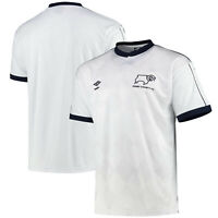 Kitbag Derby County 1988 Umbro Home Football Sport Summer Tee T-Shirt Top Shirt
