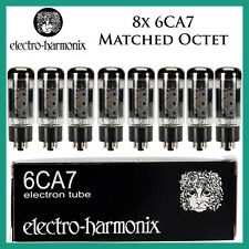 New 8x Electro Harmonix 6CA7 | Matched Octet / Eight | EH | Free Ship