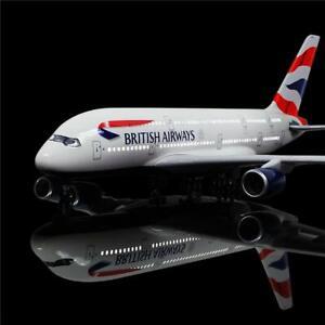 LED Light 45cm A380 British Airways BA UK Airlines Airbus Aeroplane Plane Metal