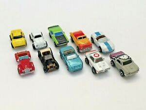 MICRO MACHINES FERRARI FORD NISSAN PACKARD VW SOME ELUSIVE GROUP LOT OF 10