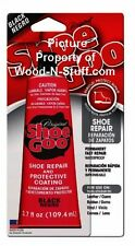 BLACK 3.7 oz ~ SHOE GOO for Repairing Worn Shoes Skate Boards Original Formula