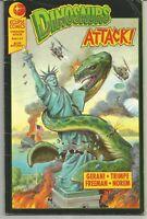Dinosaurs Attack #1 : January 1991 : Eclipse Comics