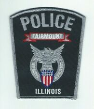 ILLINOIS - Fairmount Police patch