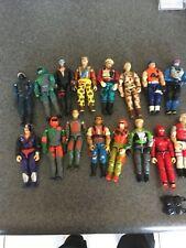 Vintage GI Joe large Lot Action Figures Hasbro 1980 to 1994 Cobra g.i. Figure