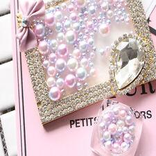 1Pc 3D Gradient Pearls Nail Art Stickers Tips Glitter Manicure DIY Tips Decor
