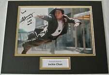 Jackie Chan SIGNED autograph 16x12 photo display Martial Arts Karate Film & COA