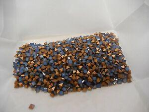 144 swarovski square shape stones,4mm white opall star shine #4401
