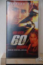 """Videokassette (VHS) """"Nur noch 60 Sekunden"""" Actionfilm"""