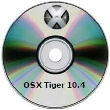 OS X  Tiger DVD OSX 10.4