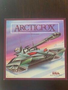 Arctic Fox EA Electronic Arts album vintage IBM PC game