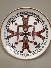"1979 Kahla Volkswanderung Children Holding Hands Plate 8"""