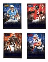 2014 Score, Behind the Numbers, Football Cards !!