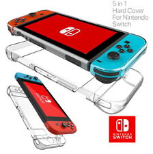 For Nintendo Switch Transparent Clear Shockproof Protective Hard Case Cover KY