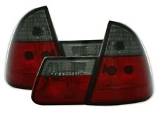 2 FEUX ARRIERE BMW SERIE 3 E46 TOURING DE 10/99 A 02/2005 NOIR TRANSLUCIDE ROUGE