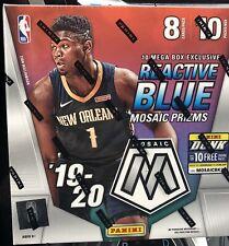 New Listing🔥2019-20 Panini Mosaic Mega Box Reactive Prizms Nba Basketball Cards Sealed!🔥