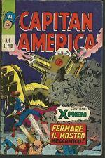 CAPITAN AMERICA N° 4 - ORIGINALE - ED.CORNO - 1973