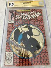 Amazing Spider-Man #300 (Marvel) 1st Venom, CGC Signed + Quote David Michelinie