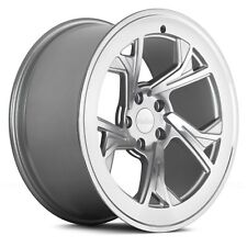 "19"" RADI8 R8C5 ALLOY WHEELS FITS AUDI A3 A4 A6 VW SEAT SILVER MACHINED"