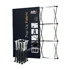 151 CM Wide Custom Printed Pop-up Fabric Stand – Tradeshow, Exhibitions Displays