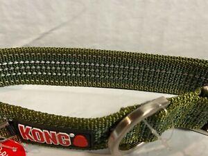 KONG green Reflective Collar