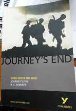 Journey's End York Notes for GCSE R C Sherriff notes by Najoud Ensaff -0319