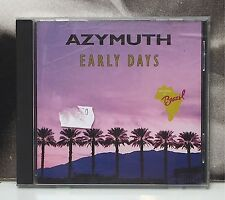 AZYMUTH - EARLY DAYS CD CON DIFETTO MA FUNZIONANTE