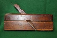 "Antique Vintage Sandusky Tool Co 3/4"" Hollow Woodworking Moulding Plane Inv#EB80"