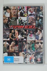 WWE - The Top 100 Moments In RAW History - Region 4 - Preowned - Tracking (D160)