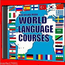 28 Superb Language courses 4 PCDVD SET Listen& Learn system MP3 audio/text files