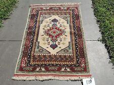 3x4ft. Beautiful Turkish Melas Handmade Wool Prayer Rug