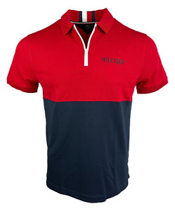 【50% OFF】Tommy Hilfiger Men's Sport Polo Shirt Moisture Quick Dry UV Protection