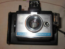 Vintage Polaroid Colorpack III Land Camera with Leather Carrying Case