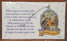 Disney 2009 Family Holiday Celebration Sleeping Beauty Christmas Ornament! *NEW*