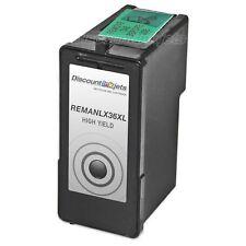 Lexmark 36XL BLACK High Yield Ink Cartridge 18C2170 for 36 XL X3650 X5650 X4650
