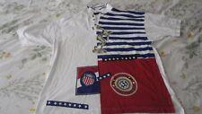 Henry Grethel New USA / Barcelona soccer/discobolus  Men's Polo  Size Medium NWT