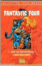 100% MARVEL # FANTASTIC FOUR n°1 # VIVE LES FANTASTIQUES # 1999