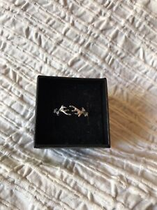 Fragrant Jewels Under The Sea  Ring Size 9 NWT coral