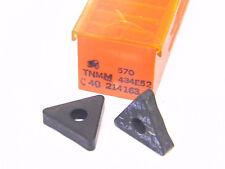 New Surplus 6Pcs. Carboloy Tnmm 434E52 Grade: 570 Carbide Inserts