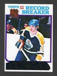 1980 Topps WAYNE GRETZKY Hockey Card #3 ~ NM-MT ~ HOF Oilers GOAT ~