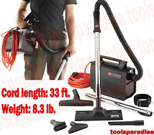 Powerful Hi-Tech HOOVER Electric Canister Vacuum Cleaner Light Weight Portable