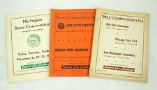 Federal Coin Exchange Michigan Iowa Ohio Convention Vintage Auction Catalog Lot