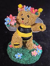 Roman 1996 Bumble Bears Don'T Worry Be Happy Bumble Bee Bear New Old Stock