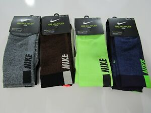 Nike Dri Fit Mens Multiplier Crew 2 Pack Socks SX7557 Nwt