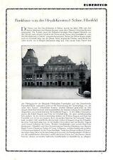 Bankhaus Von der Heydt - Kersten Elberfeld XL Reklame 1925 Werbung Bank