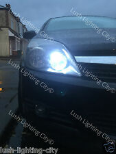 2x CREE VAUXHALL ASTRA H INC VXR SIDELIGHT 501 W5W CANBUS PURE WHITE ERROR FREE