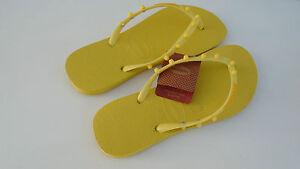Havaianas Slim Candy Badesandalen Zehentrenner Badelatschen gelb EU Flip Flop