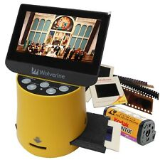 "Wolverine Titan 8-in-1 High Res Film to Digital Converter w/ 4.3"" LCD Screen NEW"