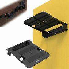 Fold Adjustable TV Box Rack Bracket Wall Mount Holder Shelf Fixed +Screw Kit Hot