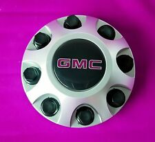 ONE 2011 - 2016 GMC Sierra HD 2500 3500 Hub wheel Center Cap SILVER 9597819